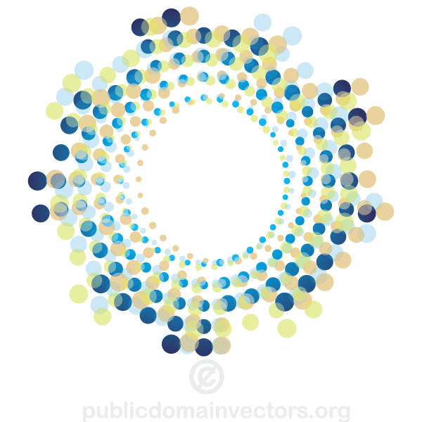 9 Circle Vector Shapes Images