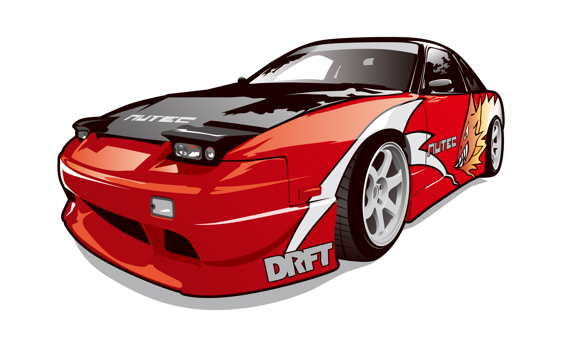 16 Automotive Vector Graphics Images