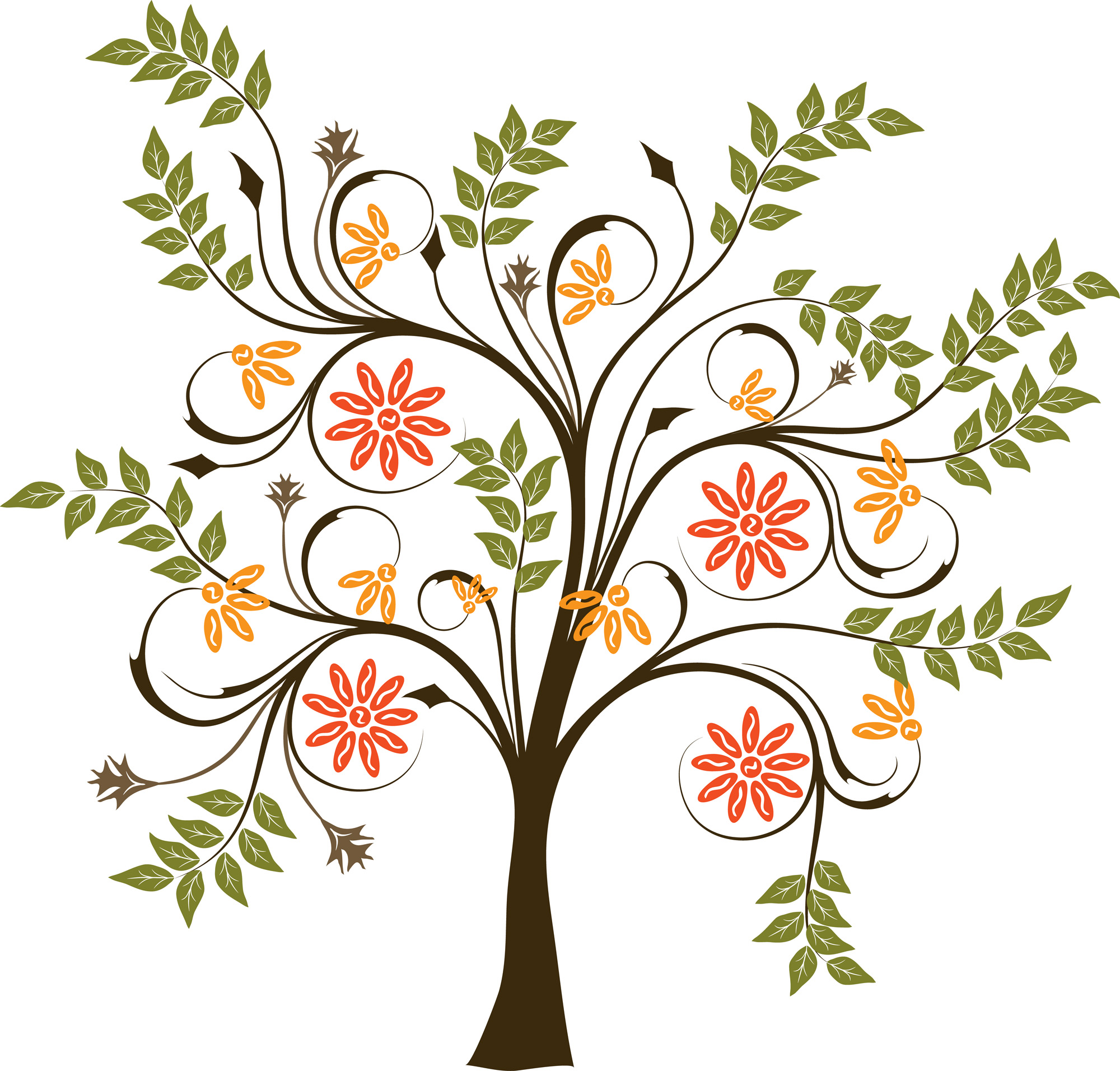 20 Tree Design Vector Images
