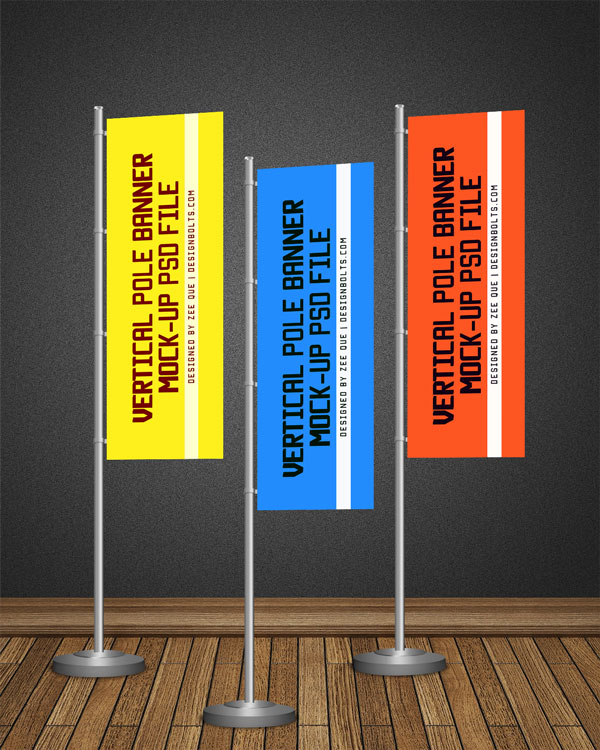 Vertical Flag Pole Banners