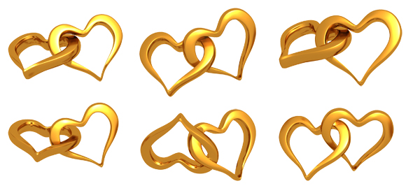 9 PSD Gold Ring Images