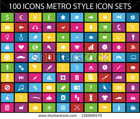 Windows Metro Style Icons