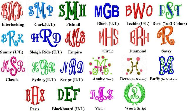 12 monogram font styles images free monogram font styles
