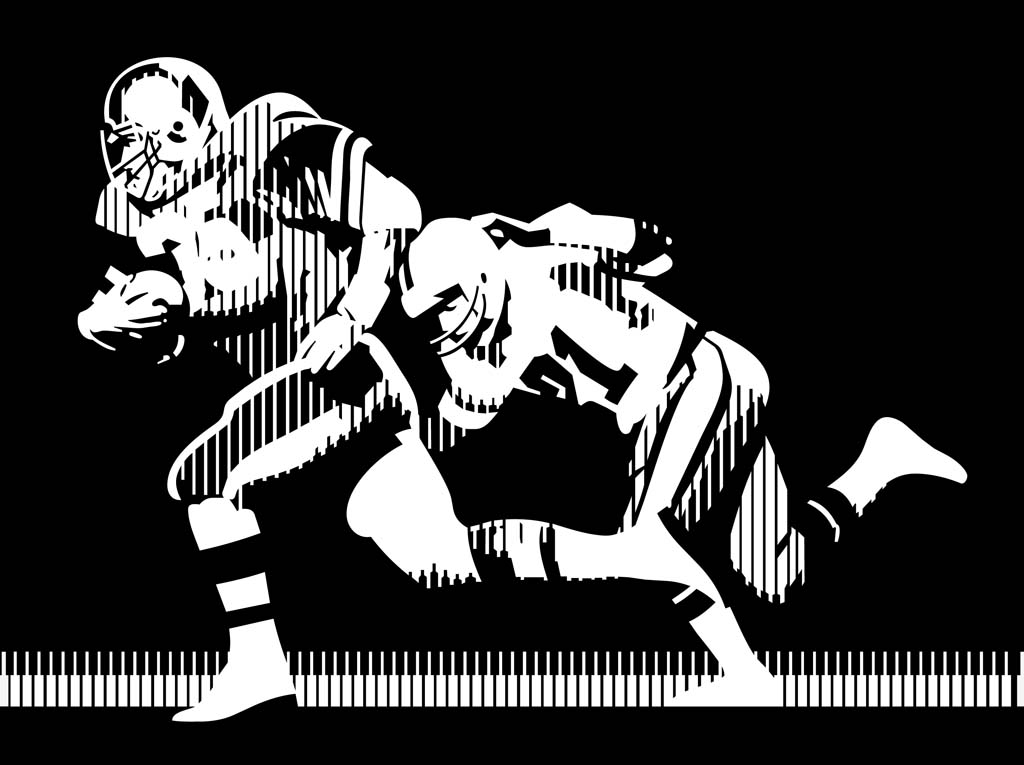 American Football Vector Graphics