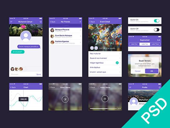 19 App Design PSD Images