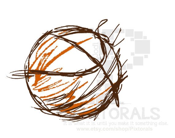 16 Screen Printing Vector Art Basketball Images