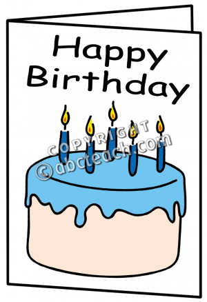 Birthday Card Clip Art Free