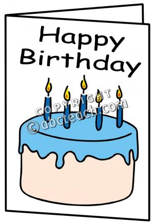 Birthday Card Clip Art Free
