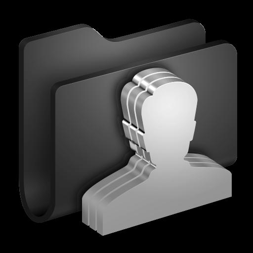 16 3D Icons PNG Clock Black Images