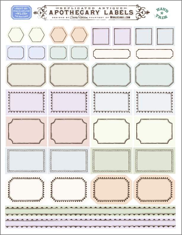 post it labels templates - 17 vintage apothecary labels free template images