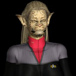 Caitian Star Trek Women