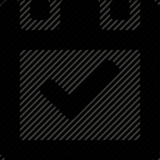 Calendar Design Icon : Basic calendar icon images blank