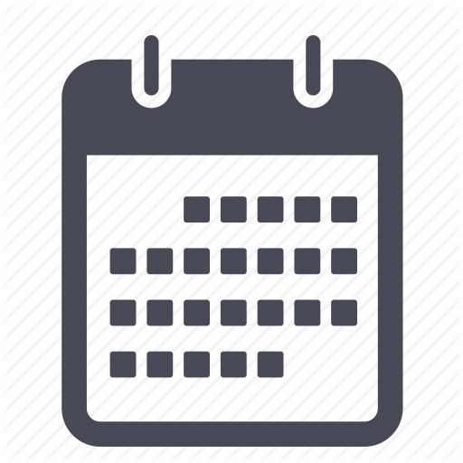 Blank Calendar Icon Png : Basic calendar icon images blank