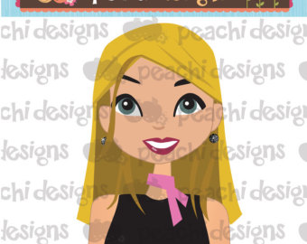 8 Blond Hair Avatar Icon Images