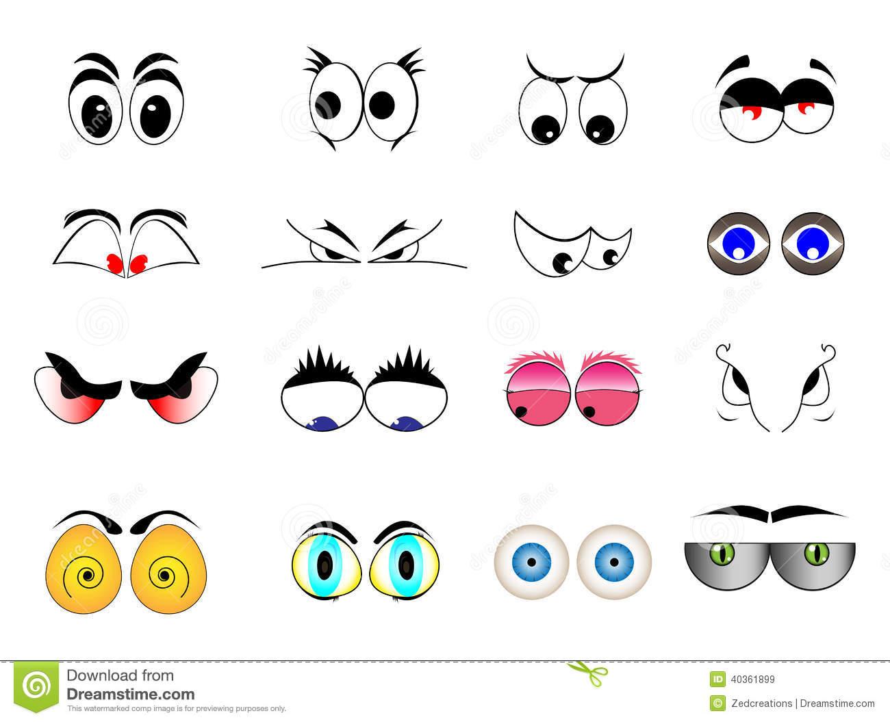 Cartoon Eye Illustrations