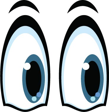 19 Vector Cartoon Eyes Images