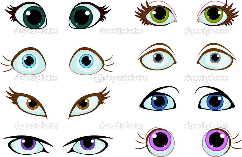 Cartoon Eyes Vectors