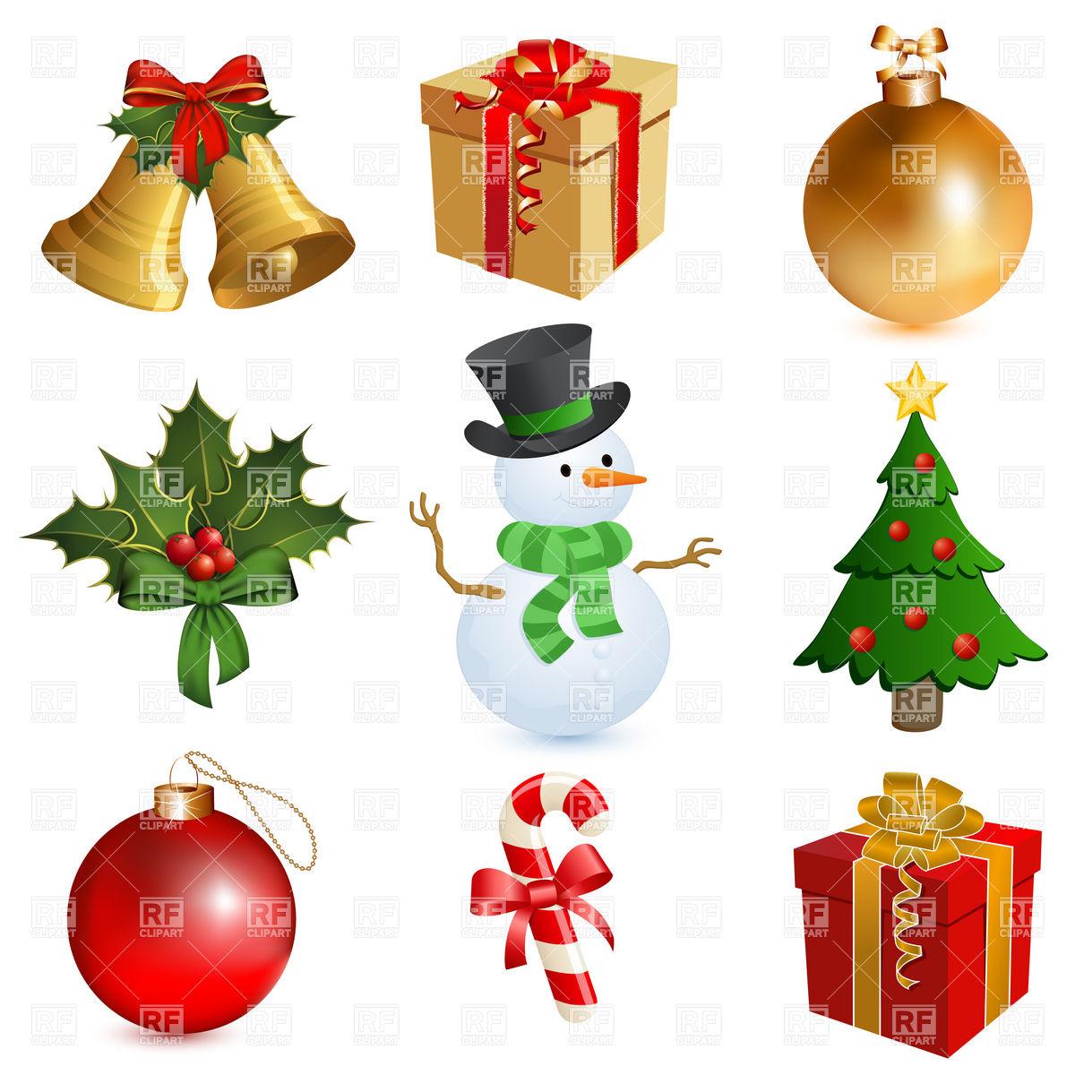Christmas Bells Border Clip Art Free