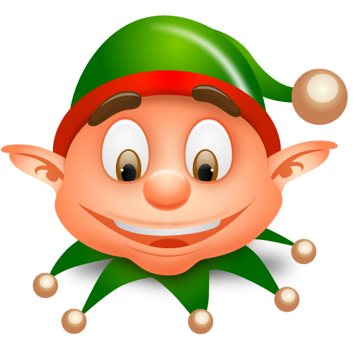 11 Christmas Elves Icons Images