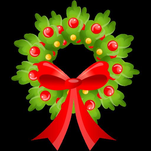 Christmas Wreath Clip Art Free