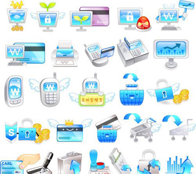 Clip Art Business Icons