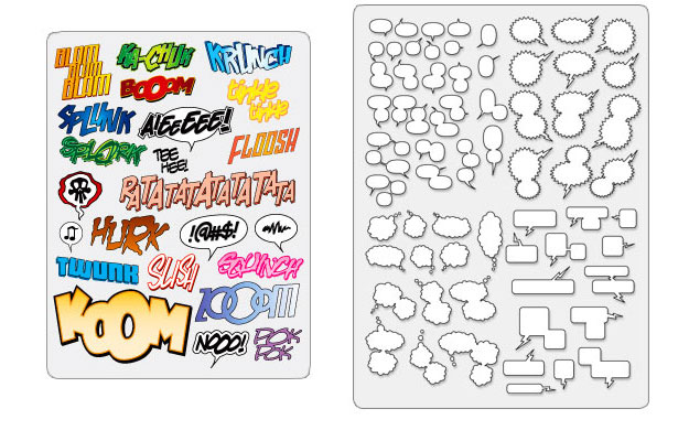 Comic Book Bubble Font