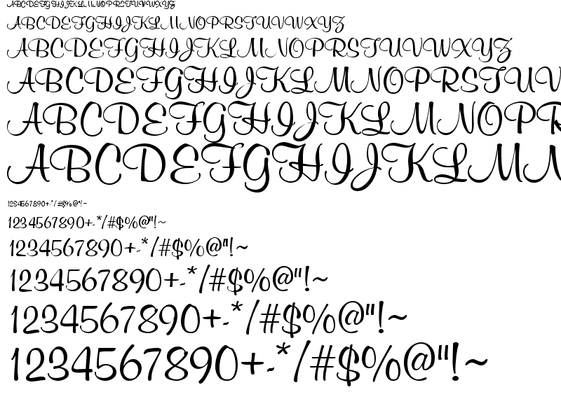 7 Mural Script Font Images - Machine Embroidery Monogram Script ...