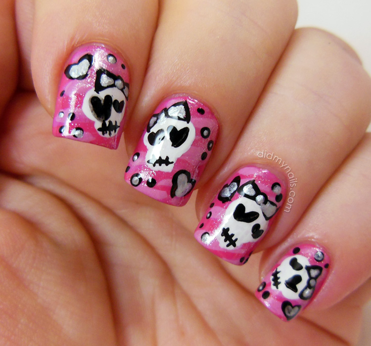 14 Cute Nail Designs To Do At Home Images Cute Easy Nails Designs Do Home Nail Designs For