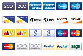 Debit Credit Cards Icons