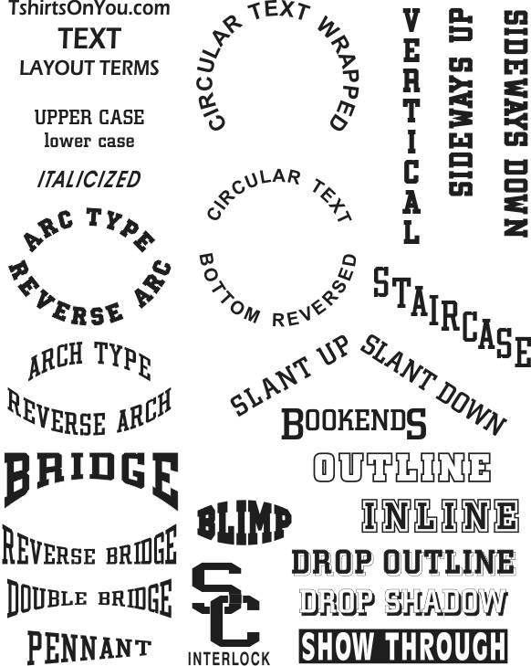 Printing Font List