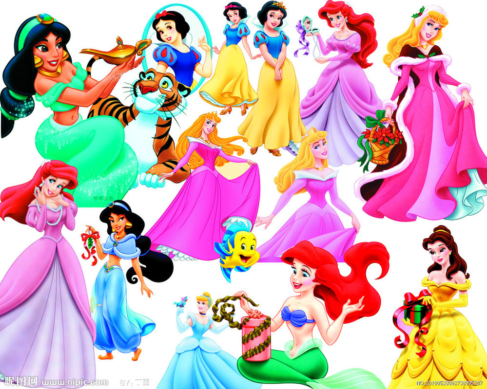 17 Princess Free PSD Files Images