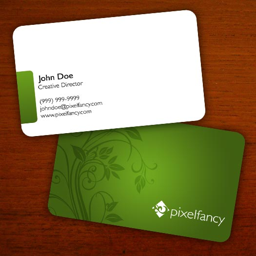 Floral Business Cards Templates Free