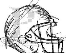 Football Helmet Vector File