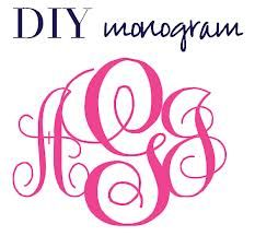 graphic regarding Free Monogram Printable known as 10 Printable Totally free Monogram Fonts Shots - No cost Printable