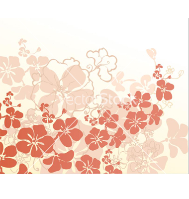 Free Vector Hawaiian Flowers