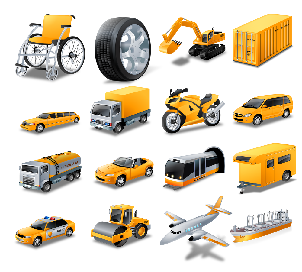 15 Transport Vector Icons Images