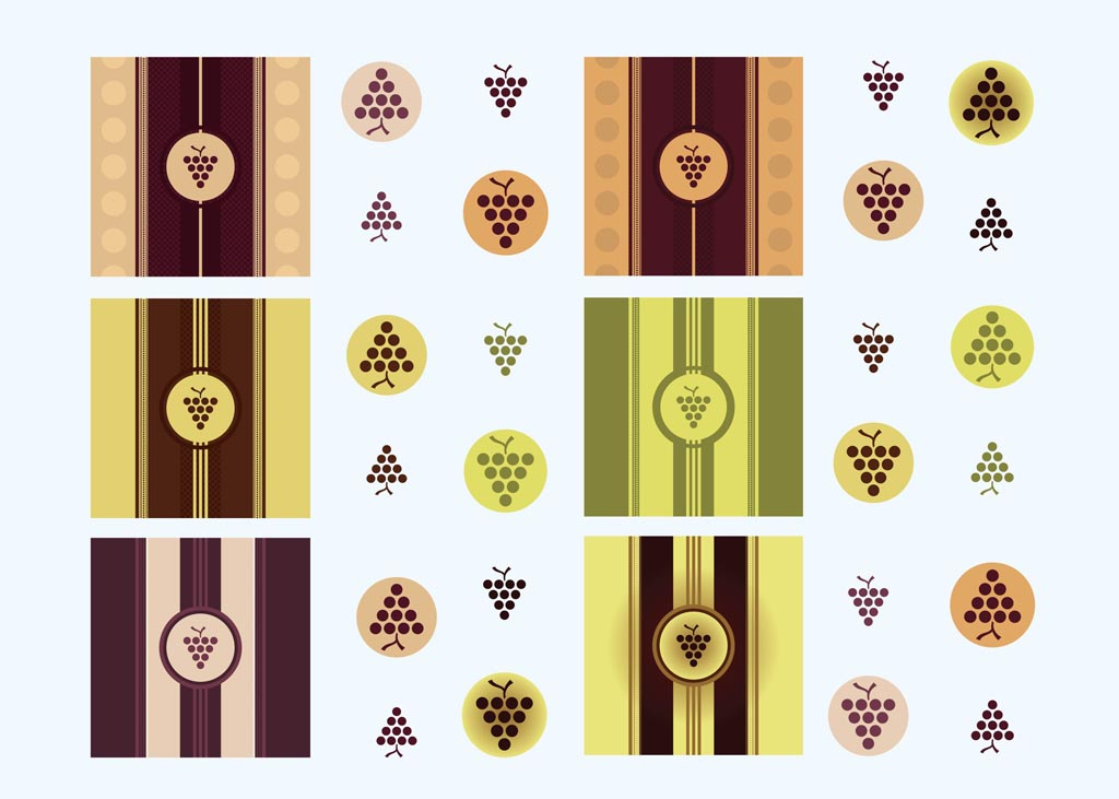 5 Vector Italian Wine Images