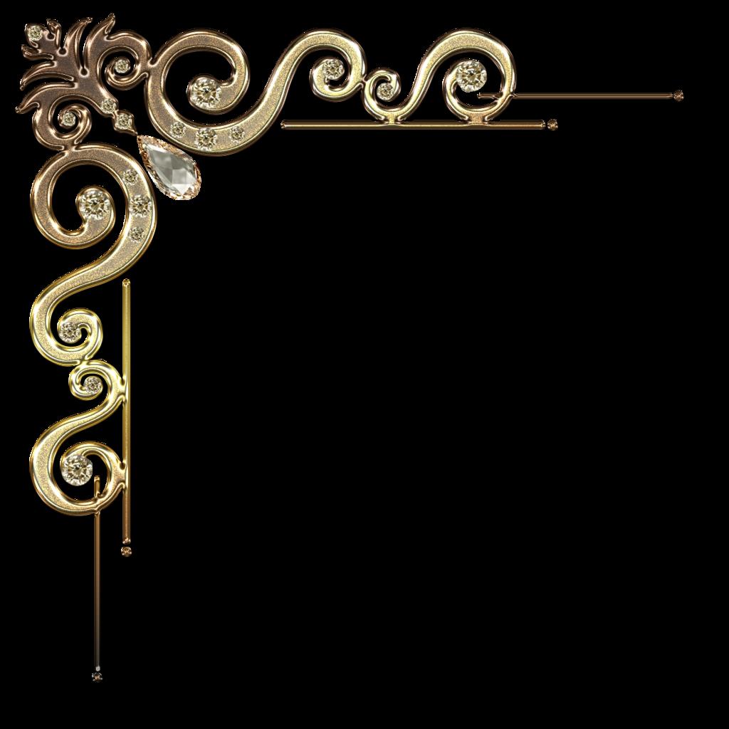 Gold Corner Border Designs