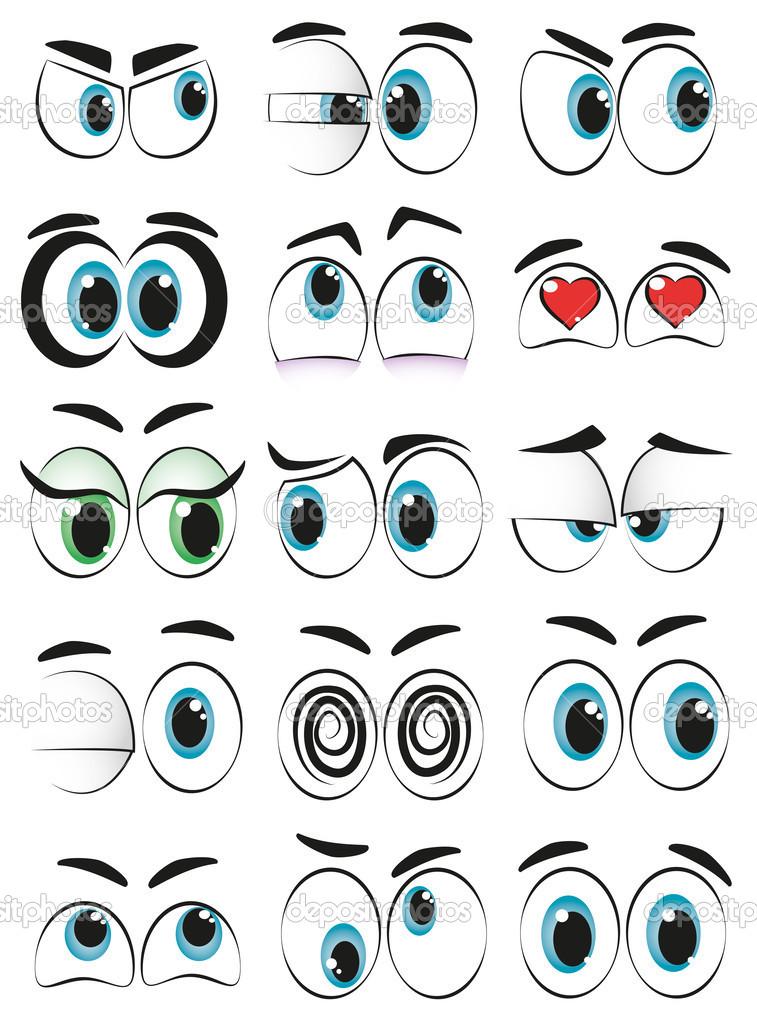 Google Eyes Cartoon