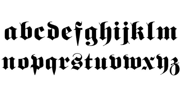 Gothic Horror Fonts