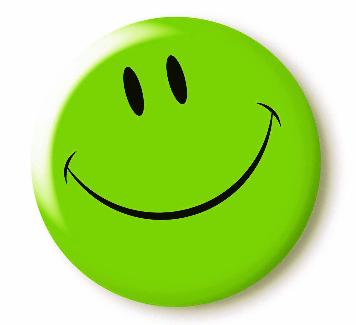 Green Smiley Emoticon