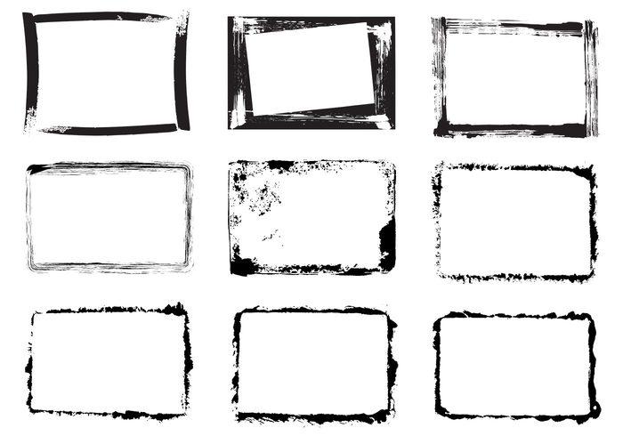 15 Grunge Frame PSD Free Download Images Free Photoshop