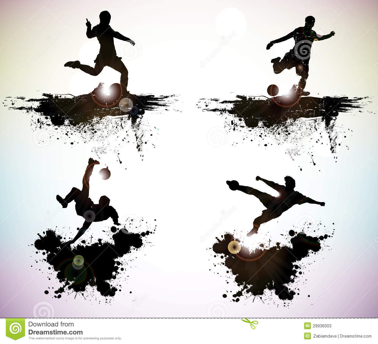 11 Grunge Vector Sports Images