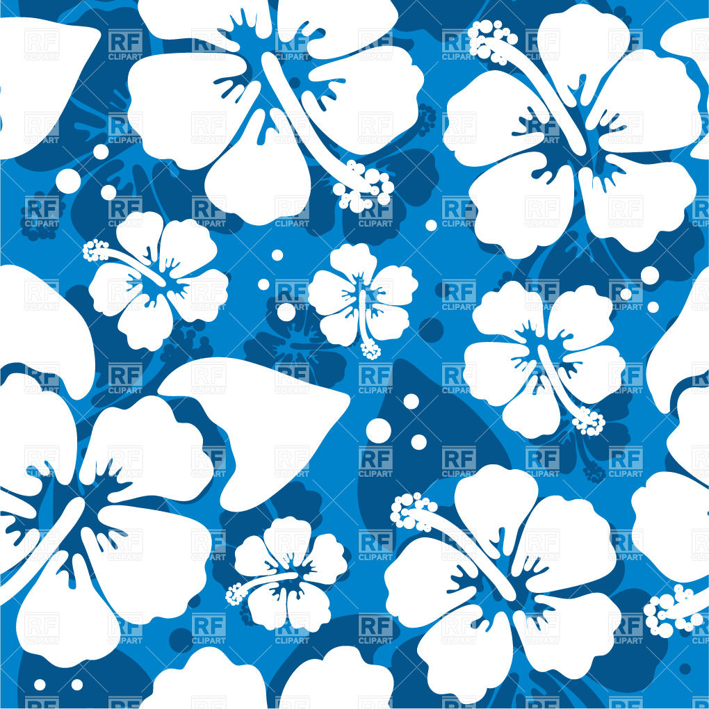 17 Hawaii Vector Graphics Floral Images Hibiscus Flower Clip Art