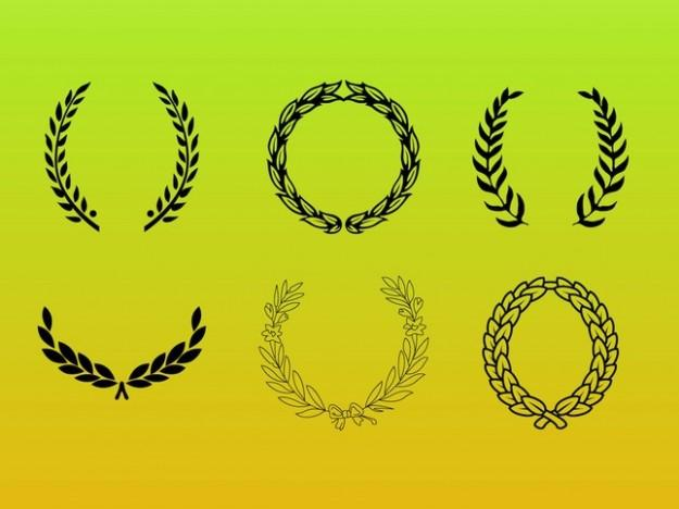 Leaf Wreath Vector Free