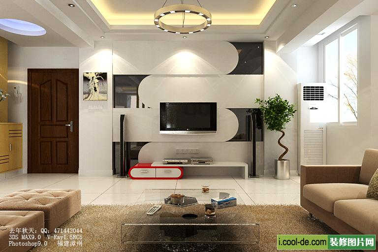 Living Room Wall Interior Design Ideas