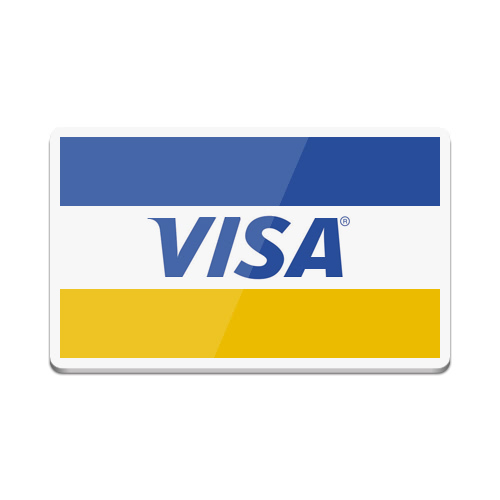 Logo MasterCard Visa Credit Card