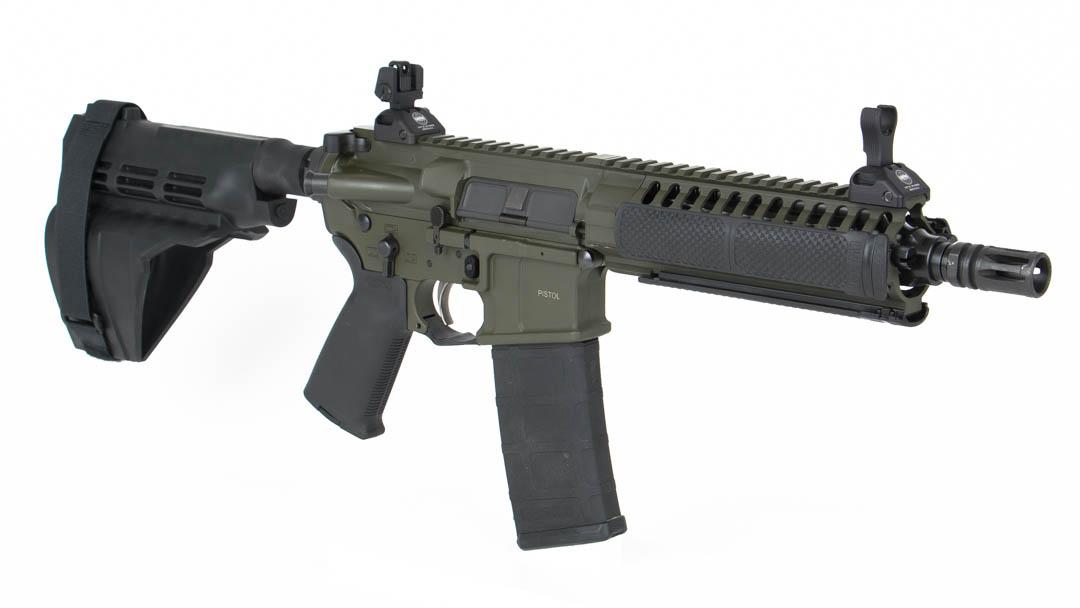 12 LWRC PSD Pistol Stock Images