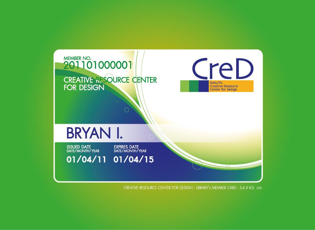 Membership Card Design Creative