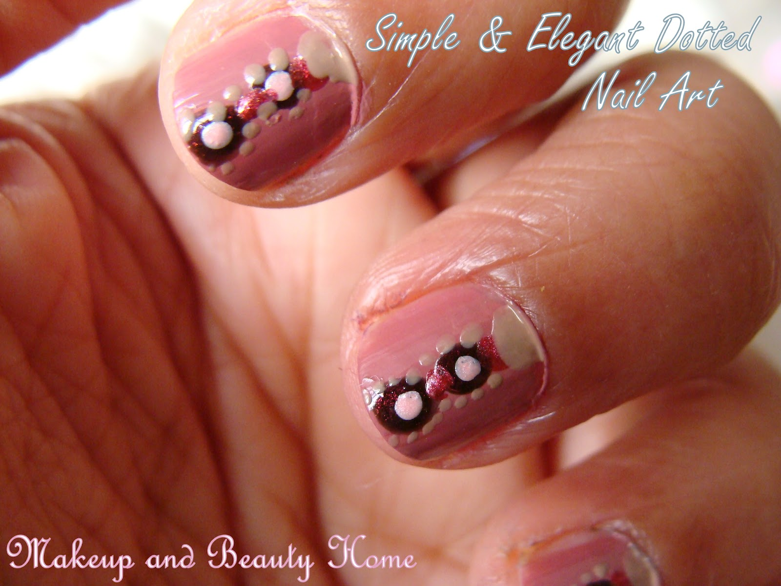 14 cute nail designs to do at home images cute easy nails designs do home nail designs for. Black Bedroom Furniture Sets. Home Design Ideas
